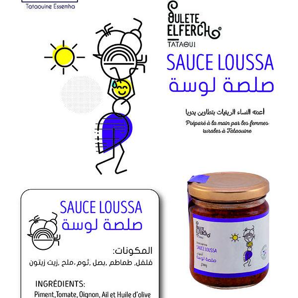 sauce loussa